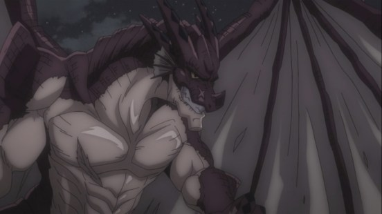 Igneel fights Acnologia